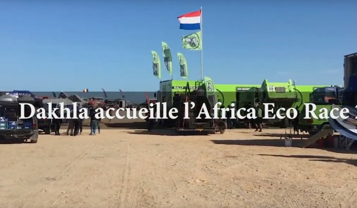 Dakhla accueille l'Africa Eco Race